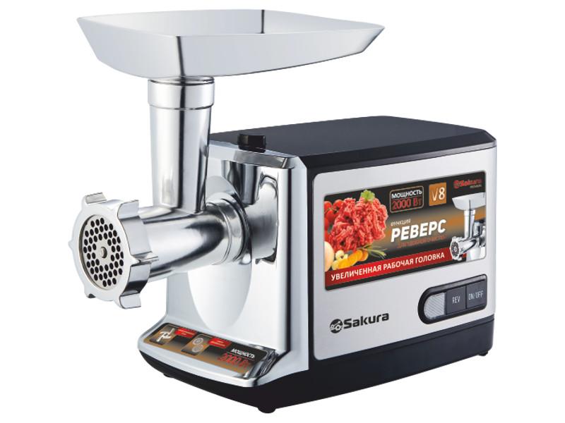 Мясорубка Sakura SA-6419BK Premium