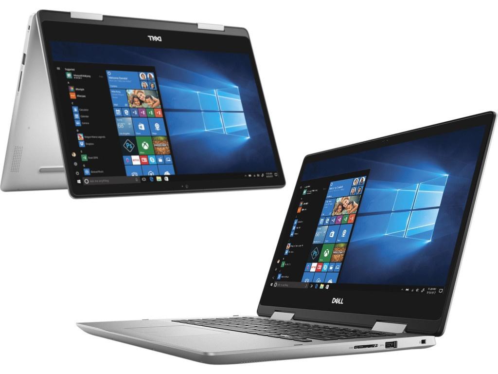 Ноутбук Dell Inspiron 5482 Silver 5482-2493 (Intel Core i3-8145U 2.1 GHz/4096Mb/256Gb/No ODD/Intel UHD Graphics 620/Wi-Fi/Bluetooth/Cam/14.0/1920x1080/Touchscreen/Windows 10 Home 64-bit) цена в Москве и Питере