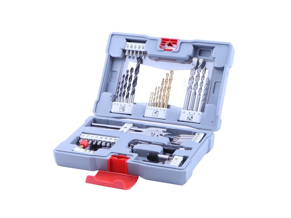 лучшая цена Набор сверл и бит Bosch Premium Set - 49 2608P00233