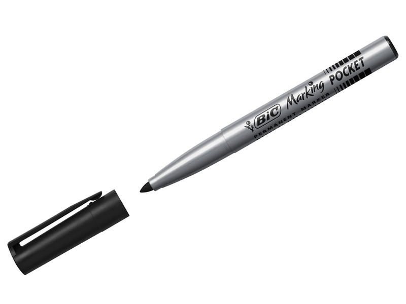 Маркер Bic Pocket 1.1mm Black 8209021