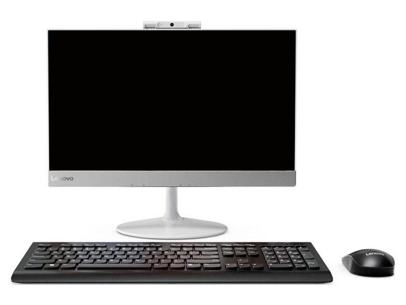 Моноблок Lenovo V410z White 10QW0011RU (Intel Core i5-7400T 2.4 GHz/4096Mb/1000Gb/DVD-RW/Intel HD Graphics/Wi-Fi/Bluetooth/Cam/21.5/1920x1080/DOS) цена 2017