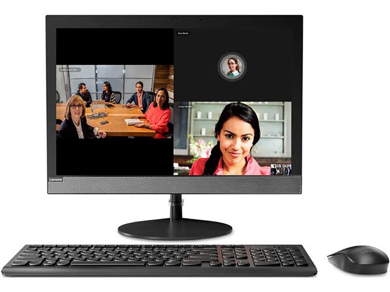 Моноблок Lenovo V130-20IGM Black 10RX0008RU (Intel Pentium J5005 1.5 GHz/4096Mb/128Gb SSD/DVD-RW/Intel HD Graphics/LAN/Cam/19.5/1440x900/DOS)