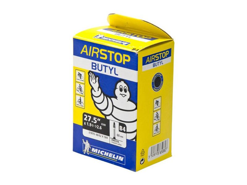 Велокамера Michelin B4 Airstop 27.5x1.8/2.4 MIC_565082