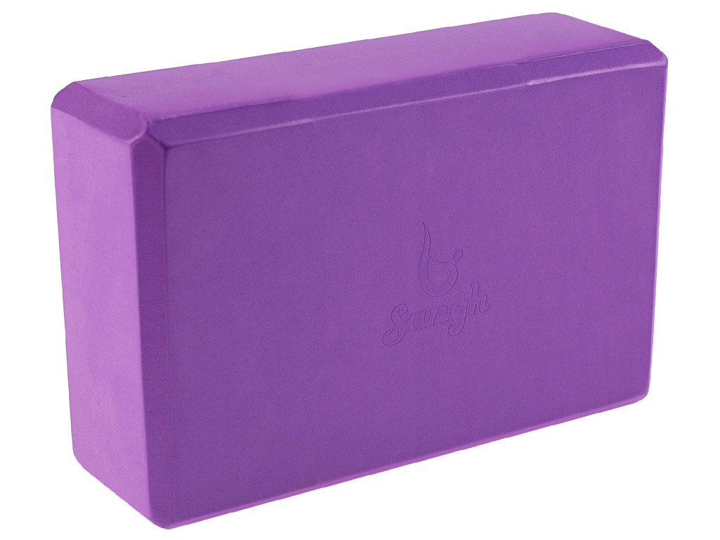 Блок для йоги Sangh Purple 3551189