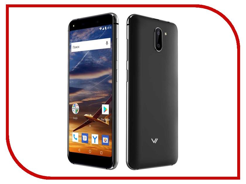 Сотовый телефон VERTEX Impress Vira Black мобильный телефон vertex impress disco графит