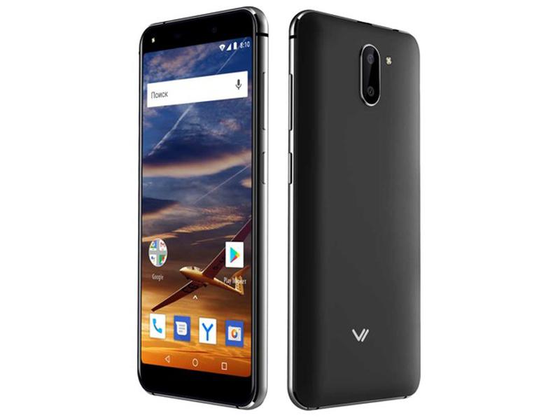 лучшая цена Сотовый телефон VERTEX Impress Vira Black