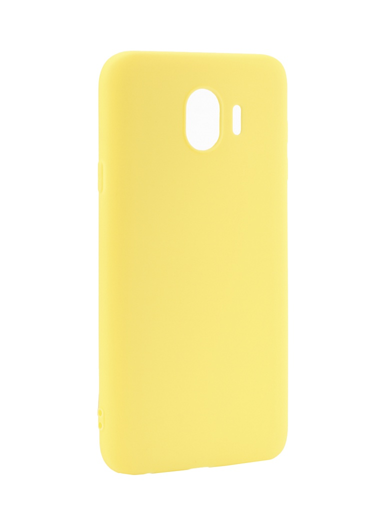 Аксессуар Чехол LuxCase TPU для Samsung Galaxy J4 Yellow 62027