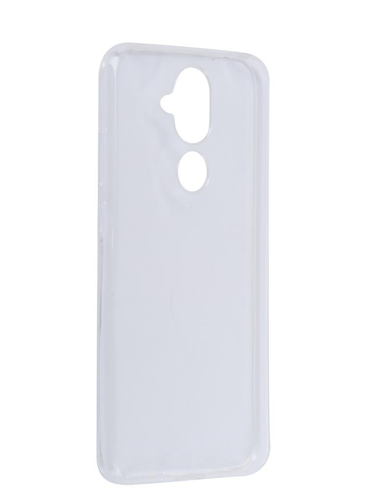 Аксессуар Чехол LuxCase для Nokia 8.1 TPU Transparent 60106 аксессуар чехол для nokia 8 1 luxcase tpu transparent 60106