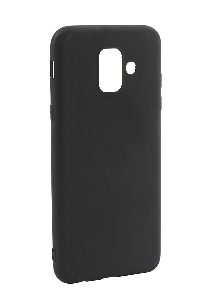 Аксессуар Чехол LuxCase TPU для Samsung Galaxy A6 Black 62032