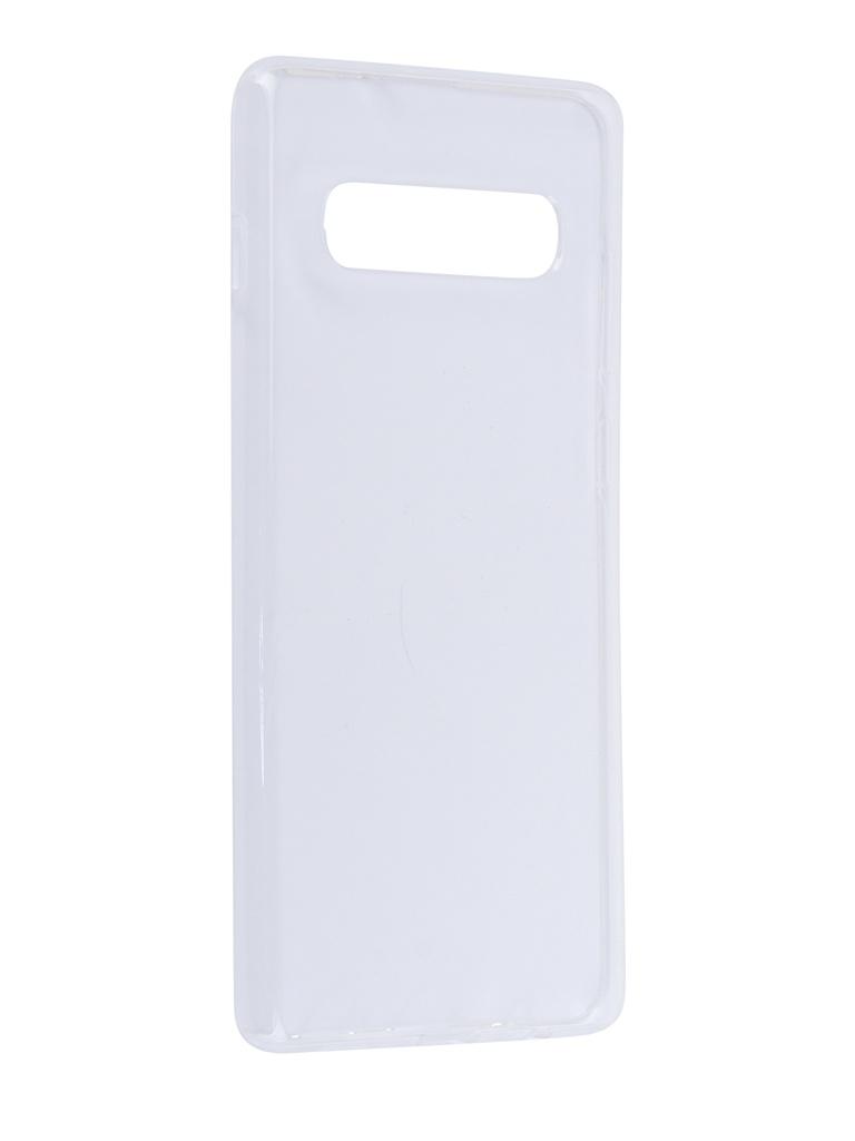 Аксессуар Чехол для Samsung Galaxy S10 G975 LuxCase TPU Transparent 60102