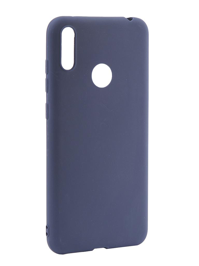 Чехол LuxCase для Huawei Y7 2019 TPU Blue 62051