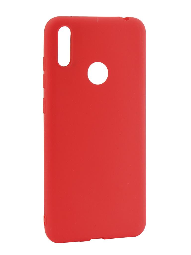 Чехол LuxCase для Huawei Y7 2019 TPU Red 62052