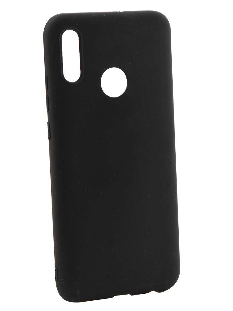 Аксессуар Чехол LuxCase для Honor 10 Lite LuxCase TPU Black 62021