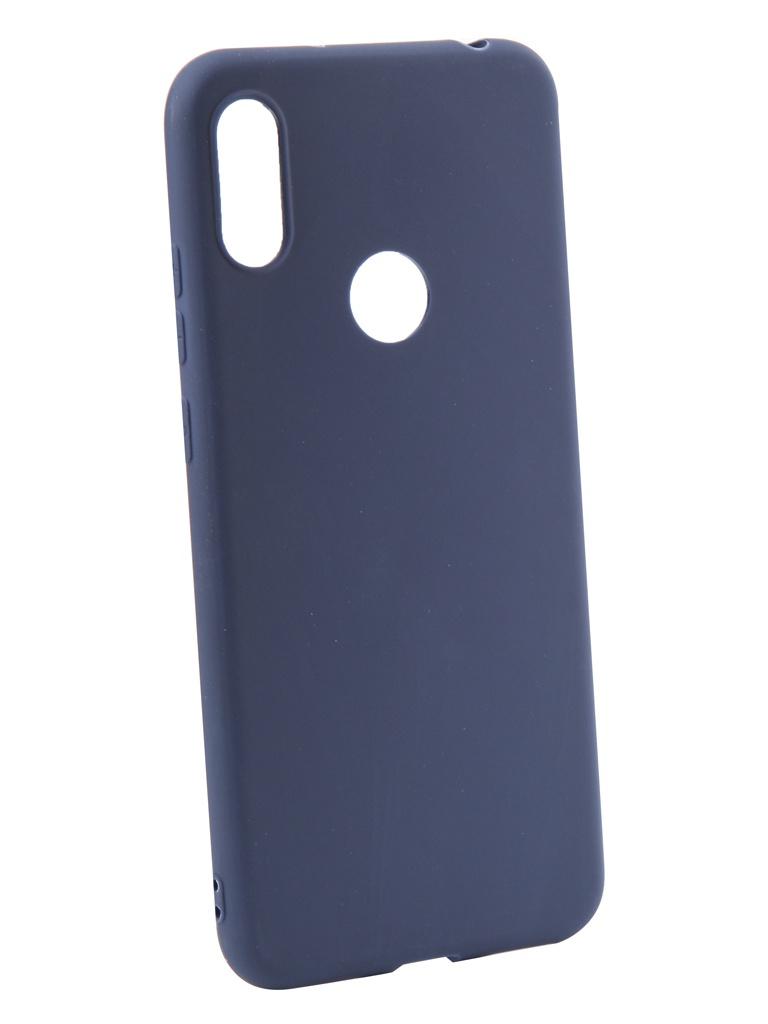 Чехол LuxCase для Honor 8A TPU Blue 62058