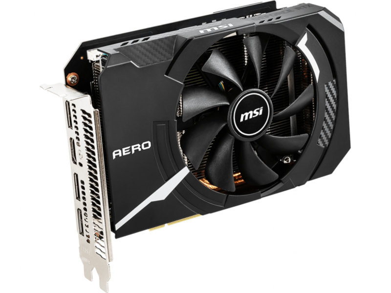 Видеокарта MSI GeForce RTX 2070 1410Mhz PCI-E 3.0 8192Mb 14000Mhz 256 bit DisplayPortx3 HDMI AERO ITX 8G