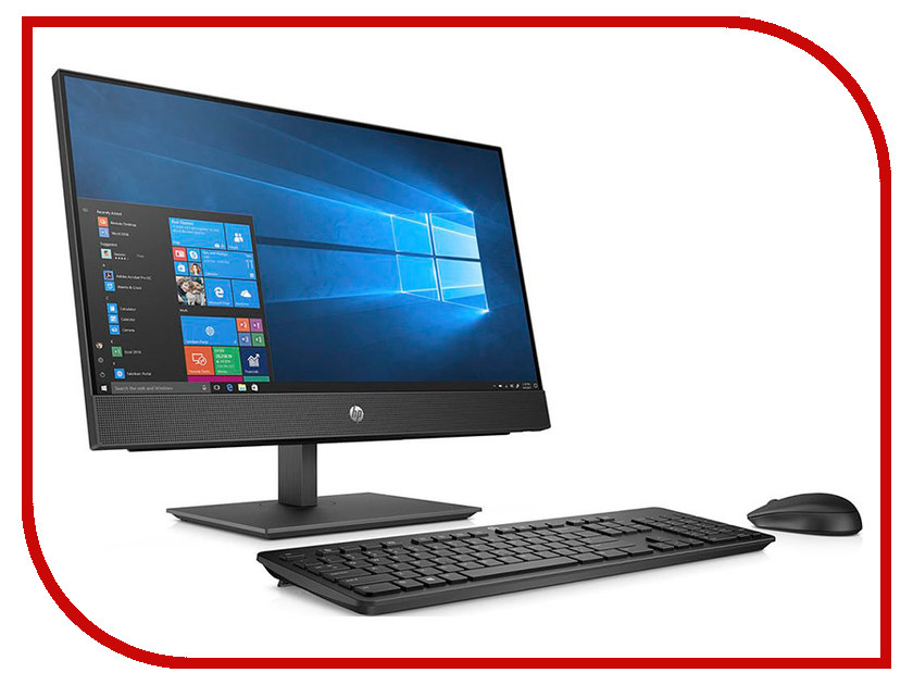 Моноблок HP ProOne 400 G4 Black 5BL83ES (Intel Pentium G5400T 3.1 GHz/4096Mb/500Gb/DVD-RW/Intel HD Graphics/Wi-Fi/Bluetooth/Cam/20.0/1600x900/Windows 10 Home 64-bit) моноблок msi pro 20et 4bw 096ru black 9s6 aa8b11 096 intel celeron n3160 1 6 ghz 4096mb 1000gb dvd rw intel hd graphics 19 5 1600x900 touchscreen windows 10 home
