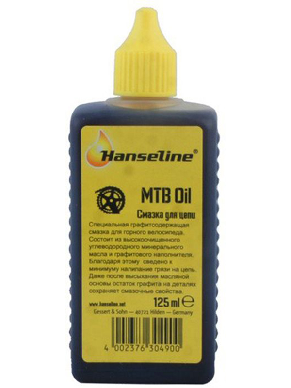 Смазка для цепи Hanseline Graphite Lube MTB 125ml HANS_304900