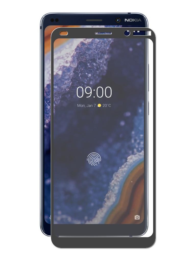 купить Аксессуар Защитное стекло Zibelino для Nokia 9 Pure View TG Full Screen Black ZTG-FS-NK-9-PV-BLK по цене 410 рублей