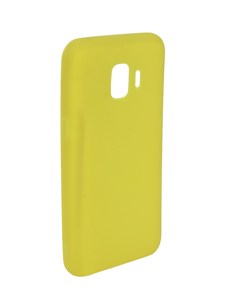 Аксессуар Чехол Zibelino для Samsung Galaxy J2 Core J260F 2018 Soft Matte Yellow ZSM-SAM-J260F-YEL аксессуар чехол zibelino для samsung galaxy j2 core j260f 2018 soft matte yellow zsm sam j260f yel