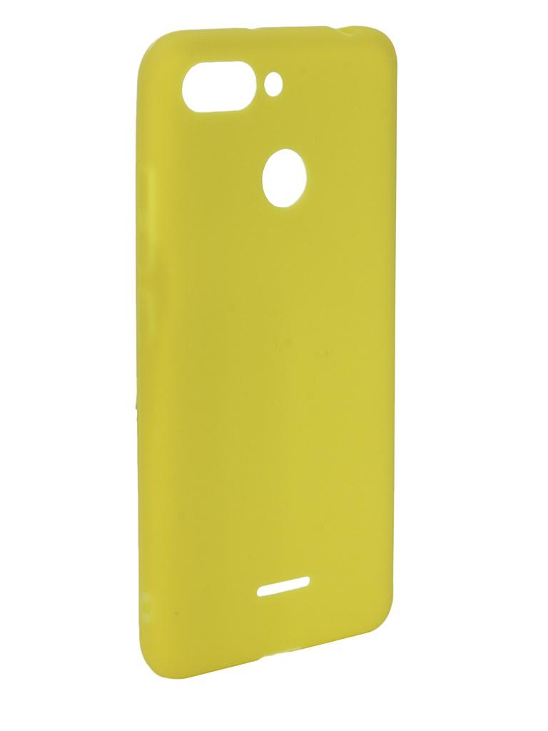 Аксессуар Чехол Zibelino для Xiaomi Redmi 6 Soft Matte Yellow ZSM-XIA-6-YEL аксессуар чехол zibelino для xiaomi redmi 6 soft matte black zsm xia 6 blk
