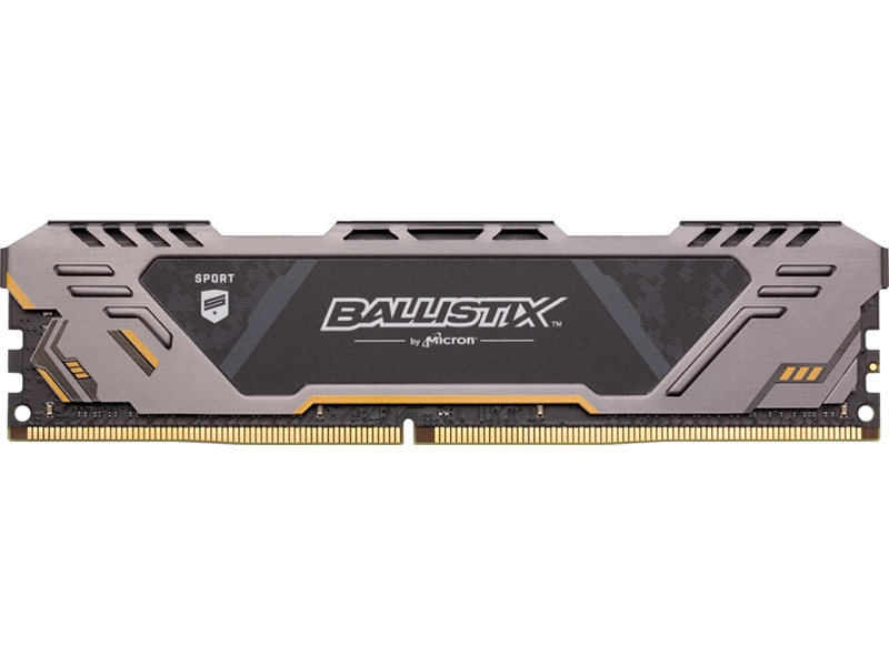Модуль памяти Crucial Ballistix Sport AT DDR4 UDIMM 3200MHz PC4-25600 CL16 - 8Gb BLS8G4D32AESTK