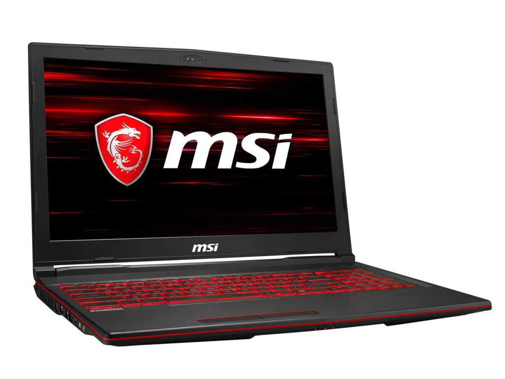 Ноутбук MSI GL63 8SC-019XRU 9S7-16P812-019 (Intel Core i5-8300H 2.3GHz/8192Mb/1000Gb/No ODD/nVidia GeForce GTX 1650 4096Mb/Wi-Fi/Bluetooth/Cam/15.6/1920x1080/DOS)