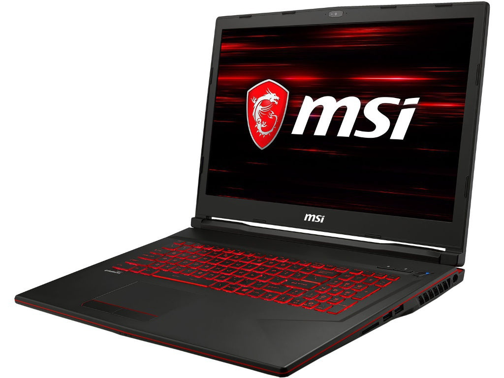 Ноутбук MSI GL73 8RD-446XRU 9S7-17C612-446 (Intel Core i7-8750H 2.2 GHz/8192Mb/1000Gb + 128Gb SSD/No ODD/nVidia GeForce GTX 1050 Ti 4096Mb/Wi-Fi/Bluetooth/Cam/17.3/1920x1080/DOS)