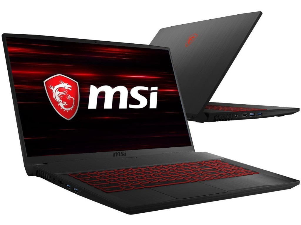 Ноутбук MSI GF75 8RC-205RU 9S7-17F112-205 (Intel Core i7-8750H 2.2GHz/8192Mb/1000Gb + 128Gb SSD/No ODD/nVidia GeForce GTX 1050 4096Mb/Wi-Fi/Bluetooth/Cam/17.3/1920x1080/Windows 10 64-bit)