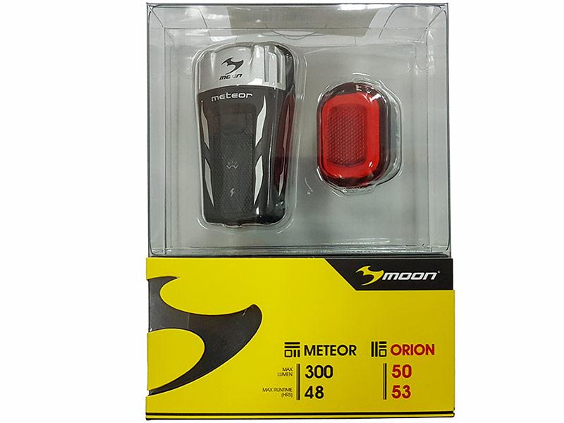 цена на Комплект фонарей Moon Meteor 300 и Orion WP_Meteor300_Orion_SET
