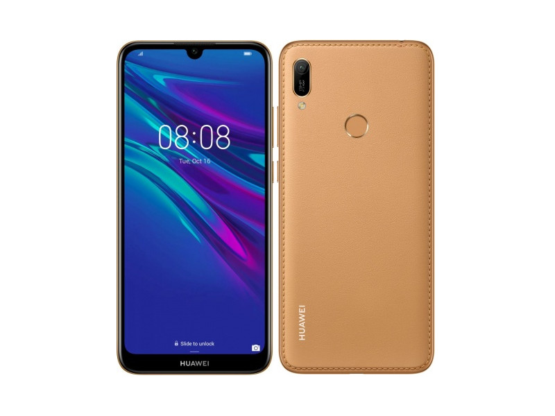 Сотовый телефон Huawei Y6 2019 2/32Gb Amber Brown Выгодный набор + серт. 200Р!!!