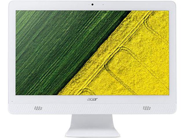 Моноблок Acer Aspire C20-820 White DQ.BC6ER.009 (Intel Pentium J3710 1.6 GHz/4096Mb/1000Gb/Intel HD Graphics/Wi-Fi/Bluetooth/19.5/1600x900/Windows 10 Home 64-bit) цена