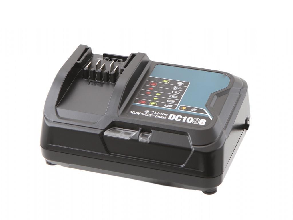 Комплект Makita Аккумулятор BL1021B Li-ion 12V 2Ah х2шт + ЗУ DC10SB Кейс MacPac 197658-5