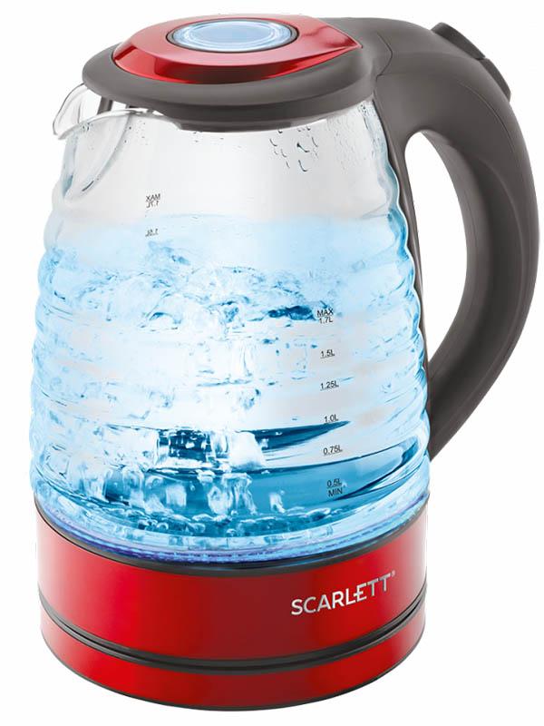 Чайник Scarlett SC-EK27G62 Red