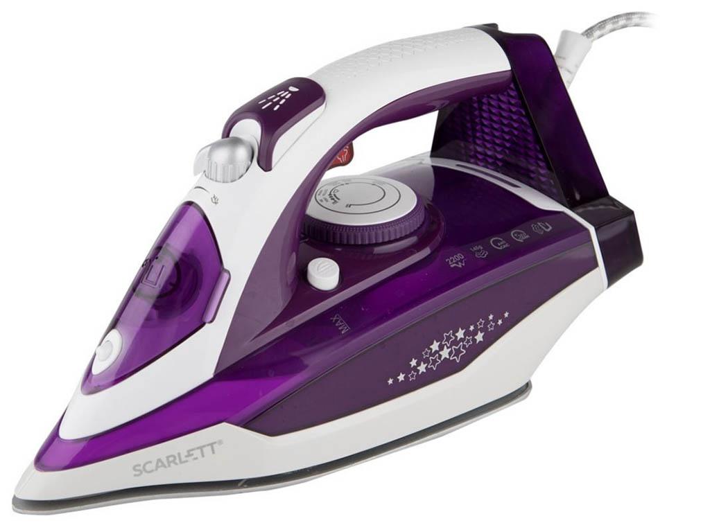 лучшая цена Утюг Scarlett SC-SI30K34 Purple