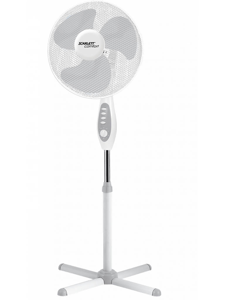 Вентилятор Scarlett SC-SF111B18 White