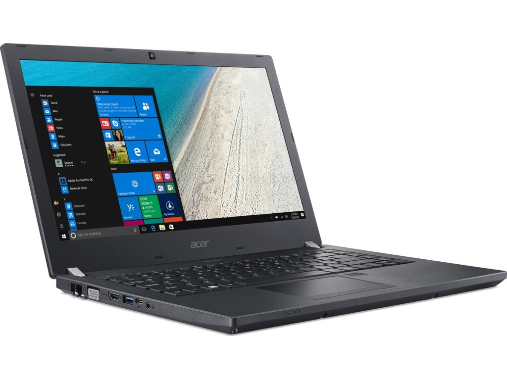 купить Ноутбук Acer TravelMate TMP449-G3-M-56JM NX.VH0ER.002 (Intel Core i5-8250U 1.6GHz/8192Mb/1000Gb + 128Gb SSD/No ODD/Intel HD Graphics/Wi-Fi/Bluetooth/Cam/14/1920x1080/Windows 10 64-bit) онлайн