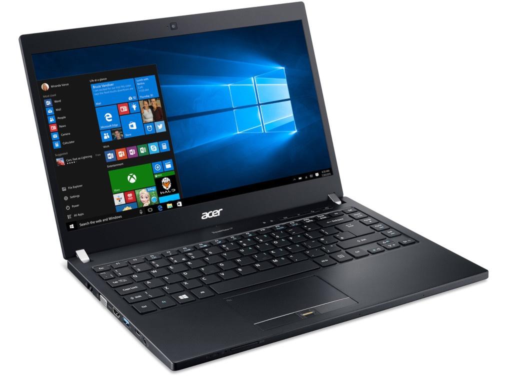 Ноутбук Acer TravelMate TMP648-G3-M-73KK NX.VG4ER.006 (Intel Core i7-7500U 2.7GHz/16384Mb/1000Gb + 256Gb SSD/Intel HD Graphics/4G/Wi-Fi/Bluetooth/Cam/14/1920x1080/Windows 10 64-bit)