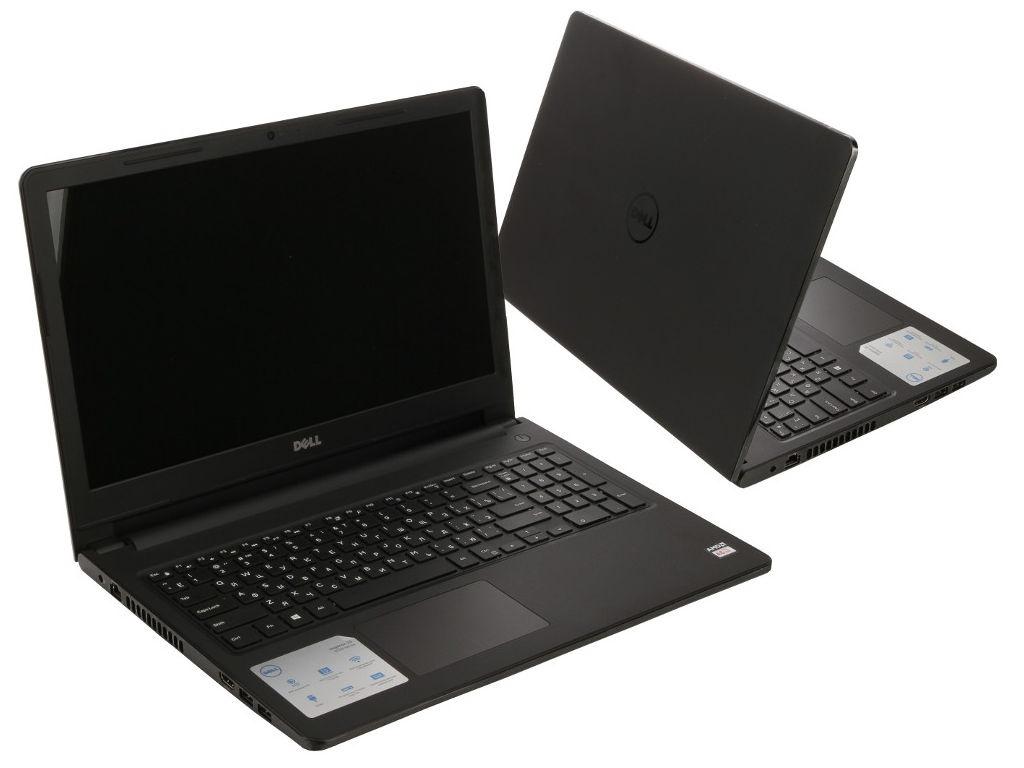 Ноутбук Dell Inspiron 3565 3565-5966 (AMD A6-9225 2.6 GHz/4096Mb/500Gb/DVD-RW/AMD Radeon R4/Wi-Fi/Bluetooth/Cam/15.6/1366x768/Linux)