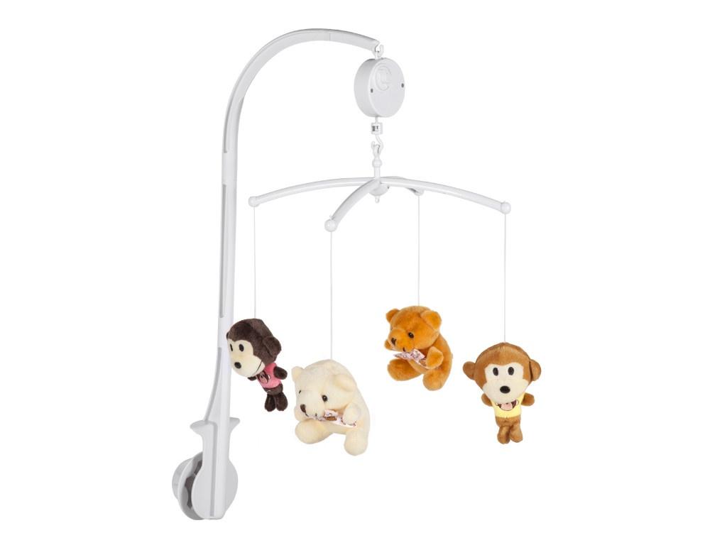 Музыкальный мобиль Mioshi Baby Лучшие друзья MBA0308-004