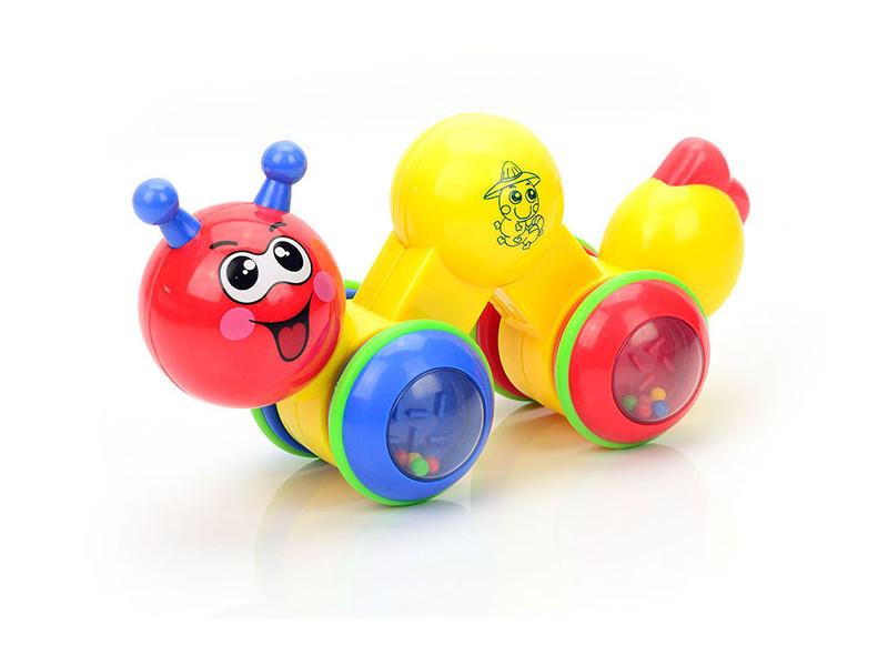 Игрушка Mioshi Baby Гусеничка MBA0302-004