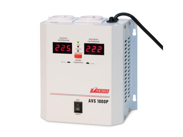 Фото - Стабилизатор PowerMan AVS 1000 P стабилизатор powerman avs 500p