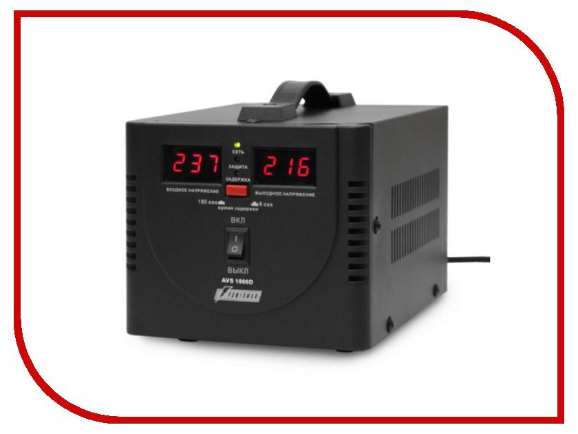 Стабилизатор PowerMan AVS 1000 D Black