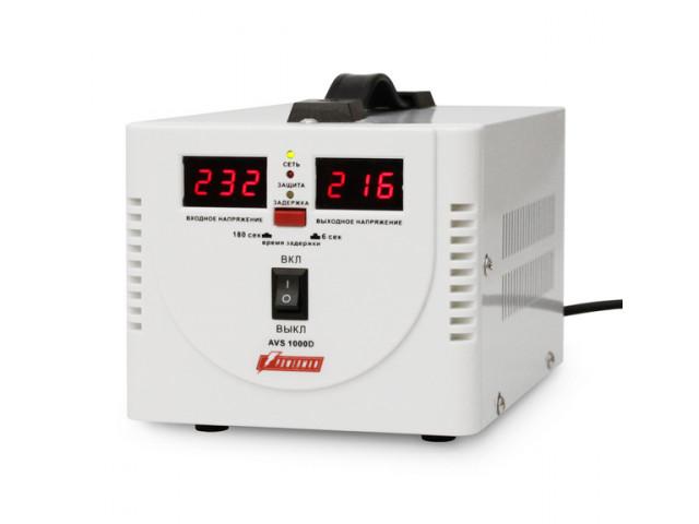 Стабилизатор PowerMan AVS 1000 D White