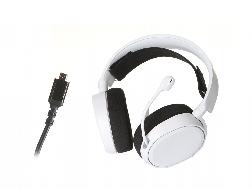 Наушники Steelseries Arctis 5 2019 Edition White 61507