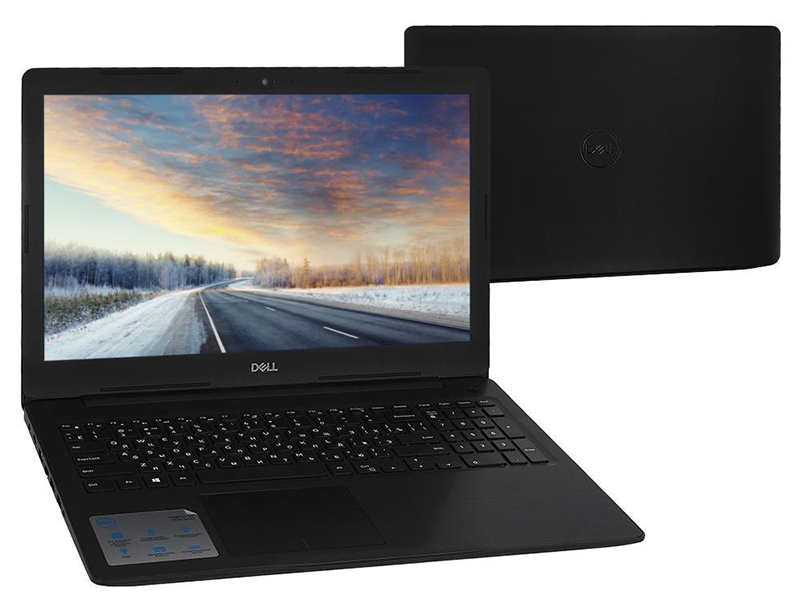 Ноутбук Dell Inspiron 5570 5570-3755 (Intel Core i5-7200U 2.5 GHz/8192Mb/1000Gb/DVD-RW/AMD Radeon 530 4096Mb/Wi-Fi/Bluetooth/Cam/15.6/1920x1080/Linux) системный блок dell optiplex 3050 sff i3 6100 3 7ghz 4gb 500gb hd620 dvd rw linux клавиатура мышь черный 3050 0405