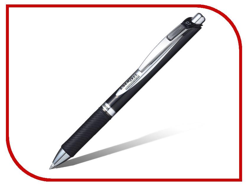 Купить Ручка гелевая Pentel EnerGel Permanent Black BLP77-A, Япония