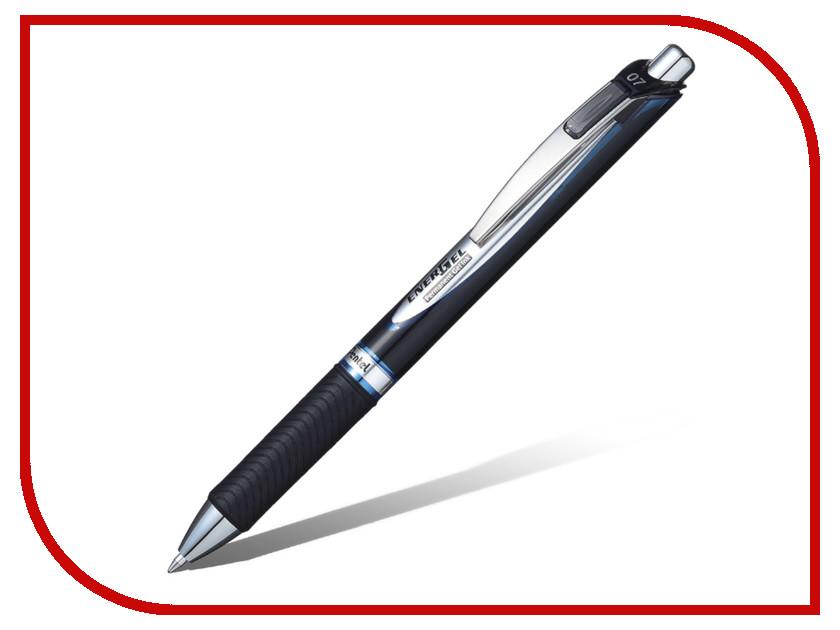 Купить Ручка гелевая Pentel EnerGel Permanent Blue BLP77-C, Япония