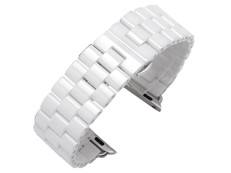 Аксессуар Ремешок Activ для APPLE Watch 42/44mm Ceramics White 95935