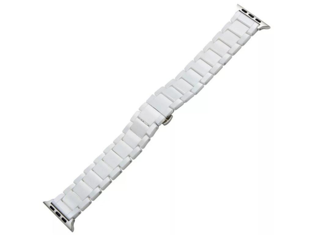 Аксессуар Ремешок Activ для APPLE Watch 38/40mm Ceramics White 95931