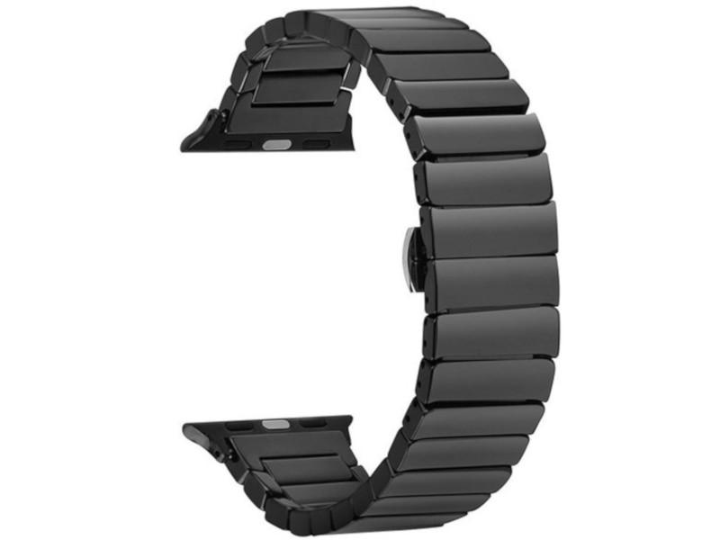Аксессуар Ремешок Activ для APPLE Watch 38/40mm Ceramics Black 95928
